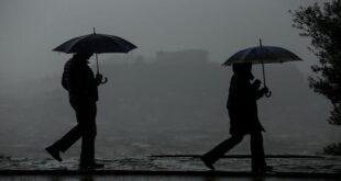 Ραγδαία επιδείνωση του καιρού με βροχές, καταιγίδες και χαλάζι