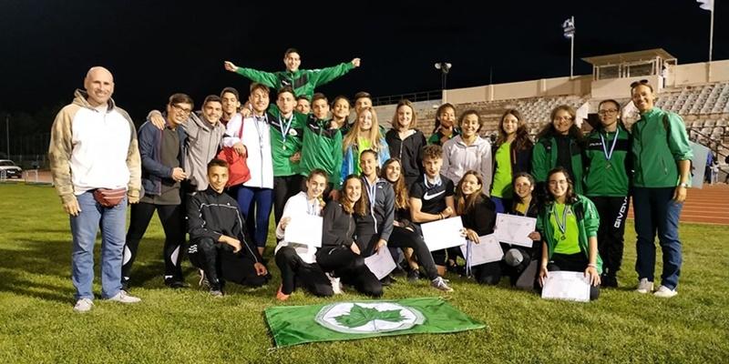 Μεσσηνιακός: 1η Θέση με 11 Μετάλλια και 7 Προκρίσεις στο Διασυλλογικό Πρωτάθλημα Στίβου στην Τρίπολη 1