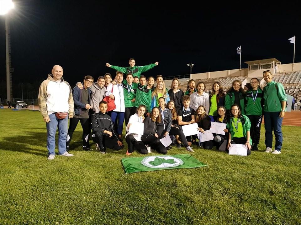 Μεσσηνιακός: 1η Θέση με 11 Μετάλλια και 7 Προκρίσεις στο Διασυλλογικό Πρωτάθλημα Στίβου στην Τρίπολη