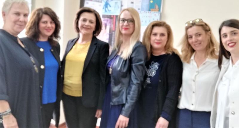 Επίσκεψη της Υφυπουργού Εσωτερικών στην Καλαμάτα 4