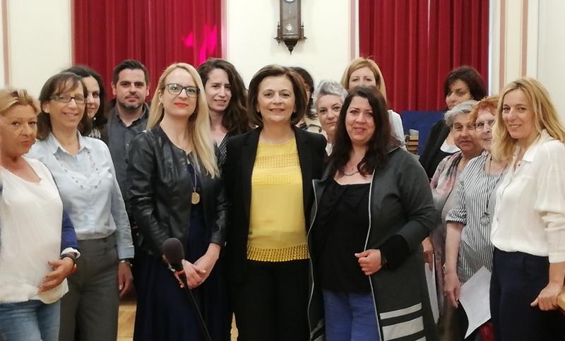 Επίσκεψη της Υφυπουργού Εσωτερικών στην Καλαμάτα 3