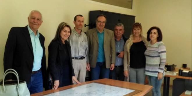 Ο Βασίλης Κοσμόπουλος επισκέφτηκε τον ΔΕΔΔΗΕ και τον σύλλογο των ΑΜΕΑ 18