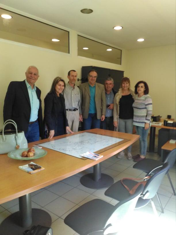 Ο Βασίλης Κοσμόπουλος επισκέφτηκε τον ΔΕΔΔΗΕ και τον σύλλογο των ΑΜΕΑ