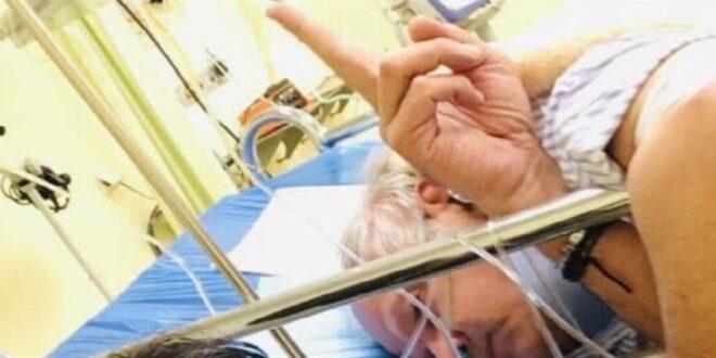 Στο νοσοκομείο ο Άκης Τσελέντης μετά από τροχαίο (εικόνες)