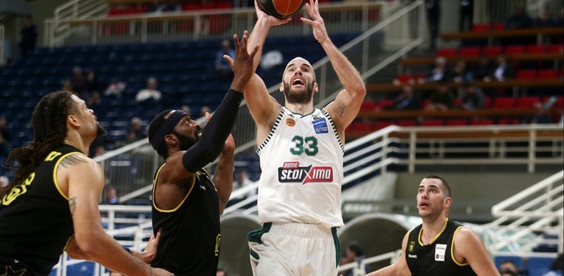Basket League: Οριστικό το -6 στον Παναθηναϊκό, με Ολυμπιακό στα πλέι οφ 4