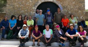 Ε.Ο.Σ. Καλαμάτας: Καθαρισμός μονοπατιού στην Ιερά Μονή Βελανιδιάς