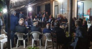 Γιώργος Τσώνης: Επισκέφθηκε τα χωριά Βελίκα, Δρακονέρι, Μάδενα και Λευκοχώρα