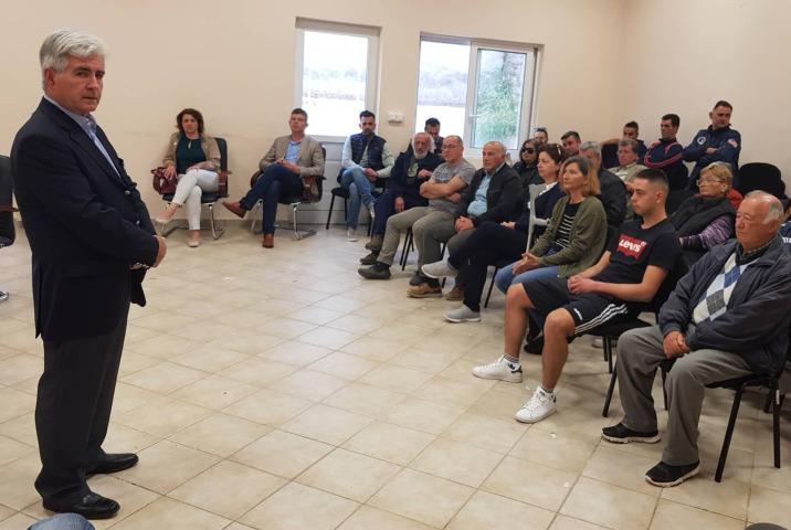 Πρότυπος Δήμος – Βασίλης Τζαμουράνης: Περιοδεία στο Πλατύ και στα Περιβολάκια