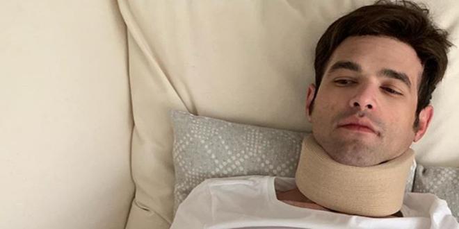 Στο νοσοκομείο μετά από τροχαίο ο Μένιος Φουρθιώτης
