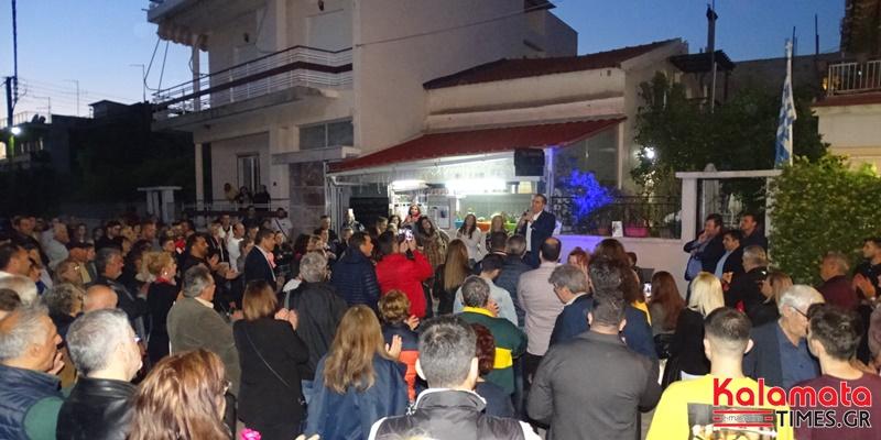 Θανάσης Βασιλόπουλος: Προεκλογική συγκέντρωση στην Αγία Τριάδα μπροστά στο πατρικό του 11