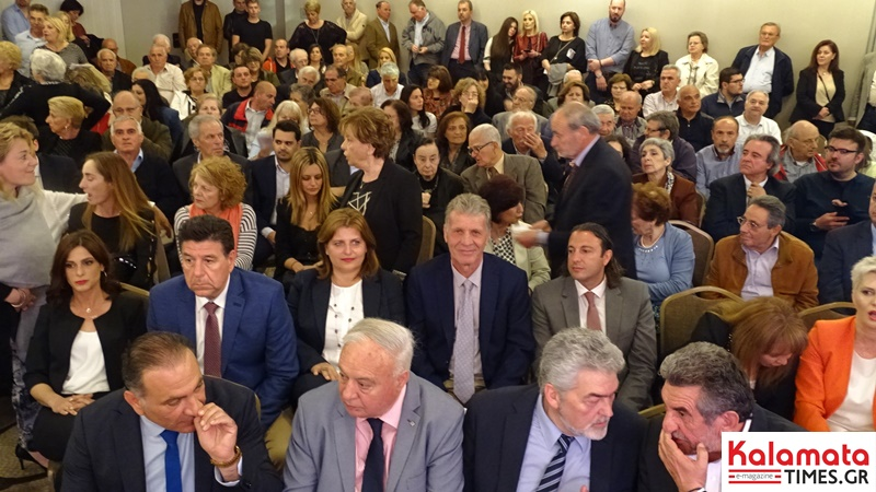 Μεγαλειώδης συγκέντρωση ο Πέτρος Τατούλης στην Αθήνα και στο Divani Caravel 7