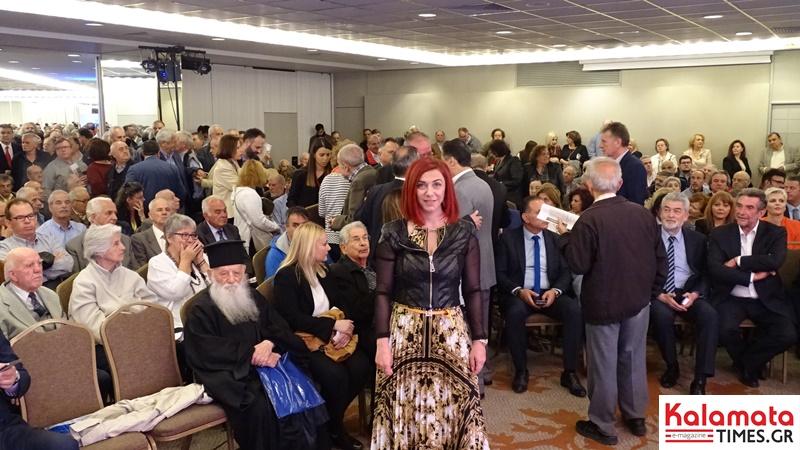 Μεγαλειώδης συγκέντρωση ο Πέτρος Τατούλης στην Αθήνα και στο Divani Caravel 8