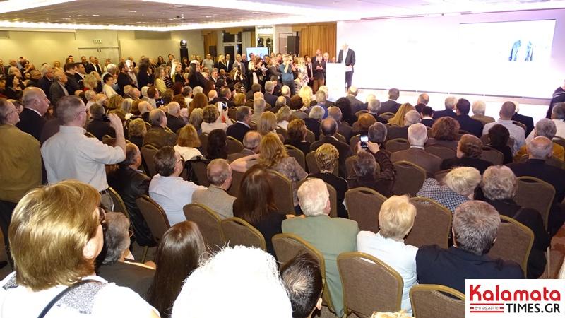 Μεγαλειώδης συγκέντρωση ο Πέτρος Τατούλης στην Αθήνα και στο Divani Caravel 13
