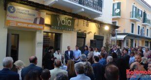 Ο Μιχάλης Αντωνόπουλος εγκαινίασε το εκλογικό του κέντρο