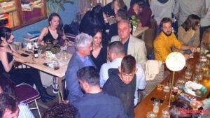 Ο Βασίλης Τζαμουράνης στο πάρτυ του Πρότυπου Δήμου