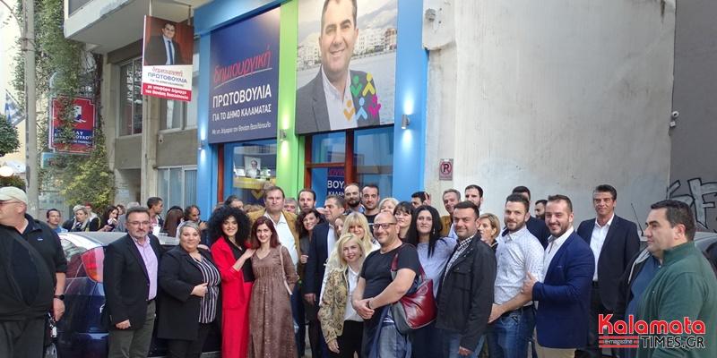 Ο Θανάσης Βασιλόπουλος κατέθεσε τη Δήλωση υποψηφιότητας με 63 υποψηφίους 1