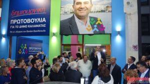 Ο Θανάσης Βασιλόπουλος κατέθεσε τη Δήλωση υποψηφιότητας με 63 υποψηφίους 18