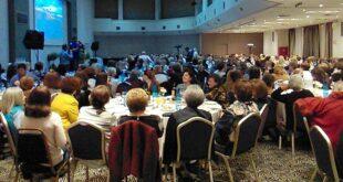 Παναγιώτη Νίκας: Σε μια κατάμεστη αίθουσα «Η νίκη είναι γένους θηλυκού»