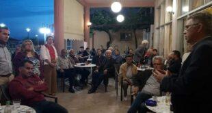 Περιοδεία Μανώλη Μάκαρη στα χωριά των δημοτικών ενοτήτων Άριος, Θουρίας, Αρφαρών