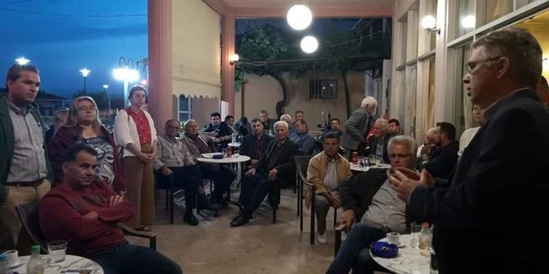 Περιοδεία Μανώλη Μάκαρη στα χωριά των δημοτικών ενοτήτων Άριος, Θουρίας, Αρφαρών 4