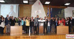 Παράσταση νίκης για τον υποψήφιο Δήμαρχο τον Βασίλη Κοσμόπουλο