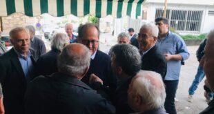 Ενθουσιασμός από την επίσκεψη Νίκα σε Χατζή, Βλαχόπουλο, Αριστομένη, Στέρνα, Μάνεσι και Τρίκορφο