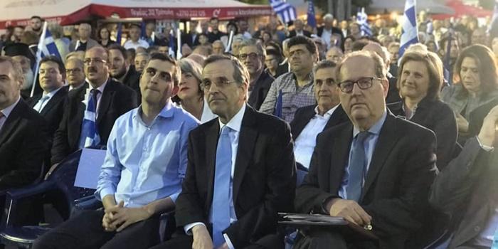Παναγιώτης Νίκας με τον πρ. Πρωθυπουργό Αντώνη Σαμαρά
