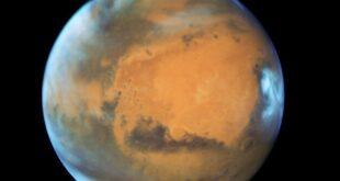 Ανακαλύφθηκε νερό σε μορφή πάγου στον βόρειο πόλο του 'Αρη