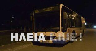 Ηλεία: Συνελήφθη 30χρονος που απειλούσε με μαχαίρι οδηγό αστικού λεωφορείου