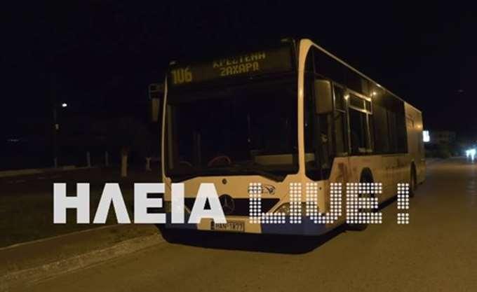 Ηλεία: Συνελήφθη 30χρονος που απειλούσε με μαχαίρι οδηγό αστικού λεωφορείου 12