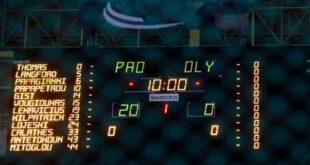 Basket League: Οριστικά 20‑0 στο ντέρμπι και υποβιβασμός του Ολυμπιακού