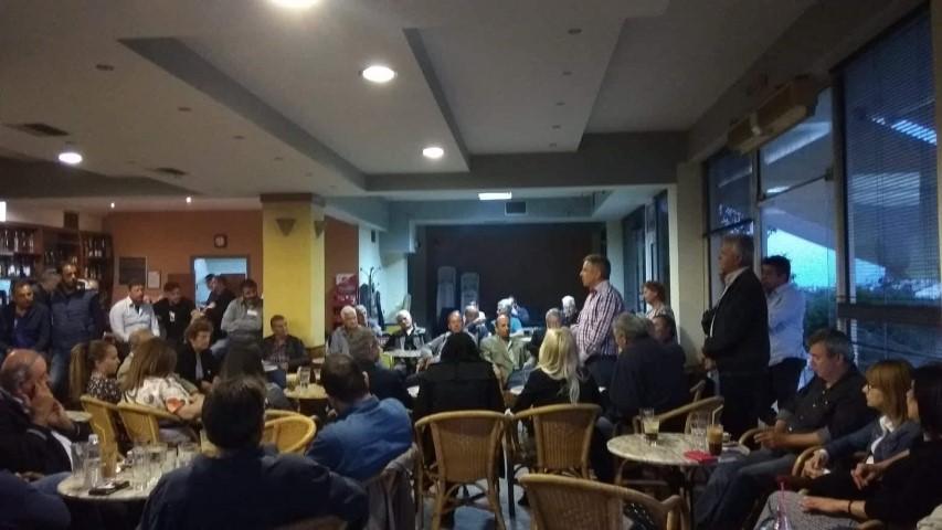 Μανώλης Μάκαρης – Δεσμεύσεις Ανοιχτού Δήμου για την Βέργα