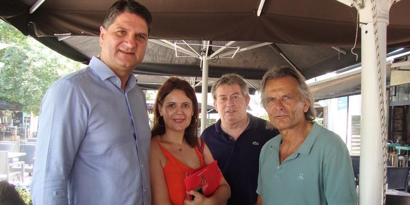 Ο υποψήφιος βουλευτής Νίκος Πατσαρίνος στη Μεσσήνη 3