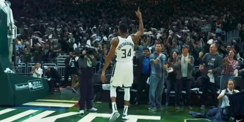 Το εντυπωσιακό video της NIKE για τον MVP του NBA Γιάννη Αντετοκούνμπο 27