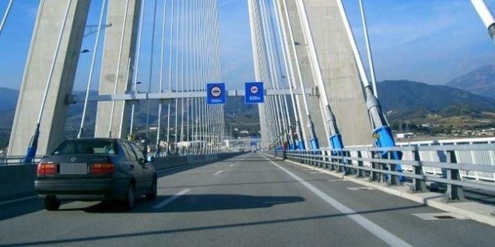 Συναγερμός στη Γέφυρα Ρίου Αντιρρίου, έπεσε ποδηλάτης! 1