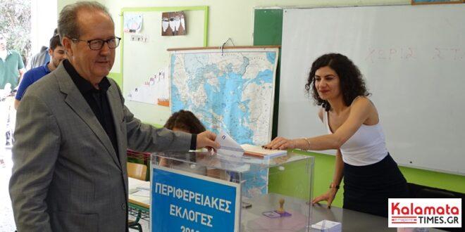 Περιφέρεια Πελοποννήσου: Προβάδισμα και νίκη Νίκα με 52,7%.