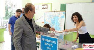 Ψήφισε ο Παναγιώτης Νίκας