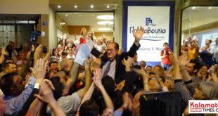 Παναγιώτης Νίκας νέος Περιφερειάρχης Πελοποννήσου