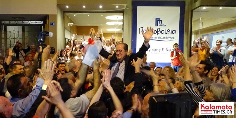 Παναγιώτης Νίκας νέος Περιφερειάρχης Πελοποννήσου με 53,59% (photos+video) 1