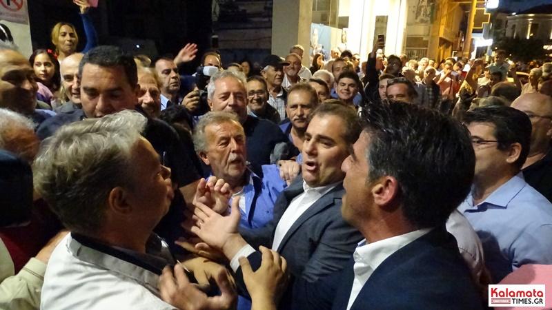 Ο Θανάσης Βασιλόπουλος νέος δήμαρχος Καλαμάτας