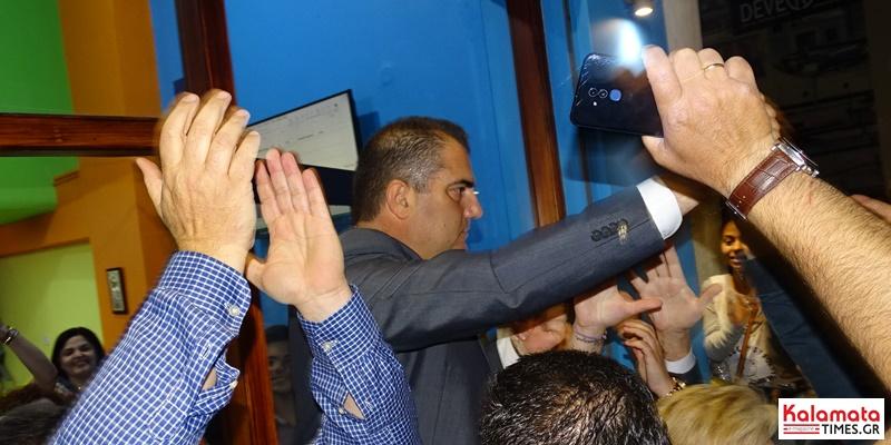 Θανάσης Βασιλόπουλος: Πρώτες δηλώσεις του νέου δημάρχου Καλαμάτας 1
