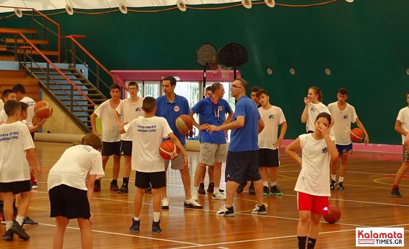 kalamata bc - Ξεκίνησε το μεγαλύτερο BASKETBALL CAMP «Greece–Serbia by Nikos Chatzis» 6