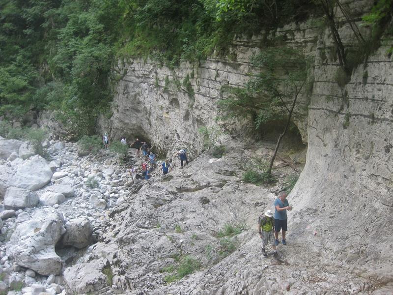 Οι ορειβάτες του ''Ευκλή'' διέσχισαν το φαράγγι του Βίκου 2