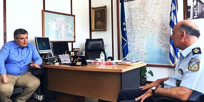 Μίλτος Χρυσομάλλης: «Υποχρέωση μας να βρισκόμαστε στο πλευρό των ανθρώπων των Σωμάτων Ασφαλείας»