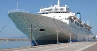 """Το κρουαζιερόπλοιο """"marella celebration"""" τη Δευτέρα στο λιμάνι Καλαμάτας"""