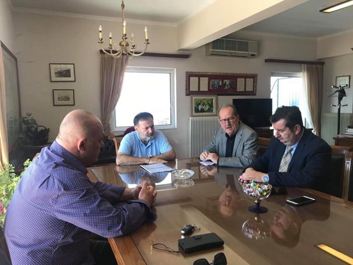 Επίσκεψη και ενημέρωση Νίκα για κοινό βηματισμό σε περιφέρειες της Πελοποννήσου