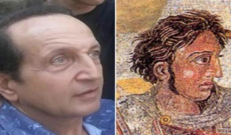 Ο Σπύρος Μπιμπίλας δηλώνει ότι μοιάζει με τον Μέγα Αλέξανδρο! (Video) 1