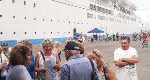 """Στην Καλαμάτα το κρουαζιερόπλοιο """"marella celebration"""""""