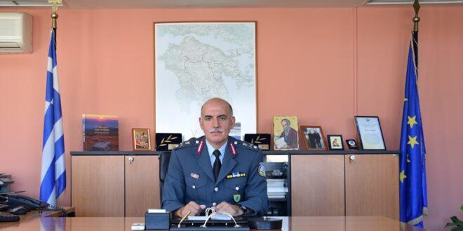 Παναγιώτης Πούπουζας ο νέος Γενικός Περιφερειακός Αστυνομικός Διευθυντής Πελοποννήσου