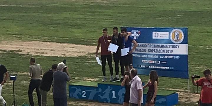 Ασημένιος Πανελληνιονίκης ο Βασιλογιαννακόπουλος στο Πανελλήνιο Πρωτάθλημα, 4ος ο Ζαχαρέας 10